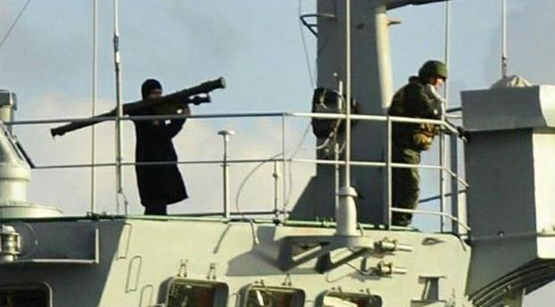 Prowokacja rosyjskiego żołnierza /NTV /