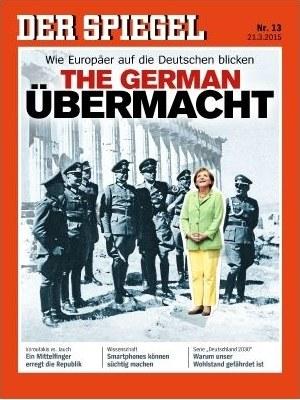 """Prowokacyjny fotomontaż na okładce """"Der Spiegel"""" /"""