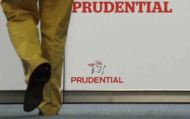Prudential, Londyn /AFP