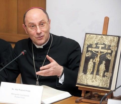 Prymas Polski abp Wojciech Polak /    Jan BIELECKI /East News