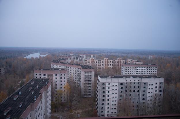 Prypeć - opuszczone miasto w północnej Ukrainie /fot. Francois Pauletto/ABACAPRESS.COM /East News