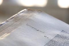 Prywatne zapiski astronoma Mikołaja Kopernika