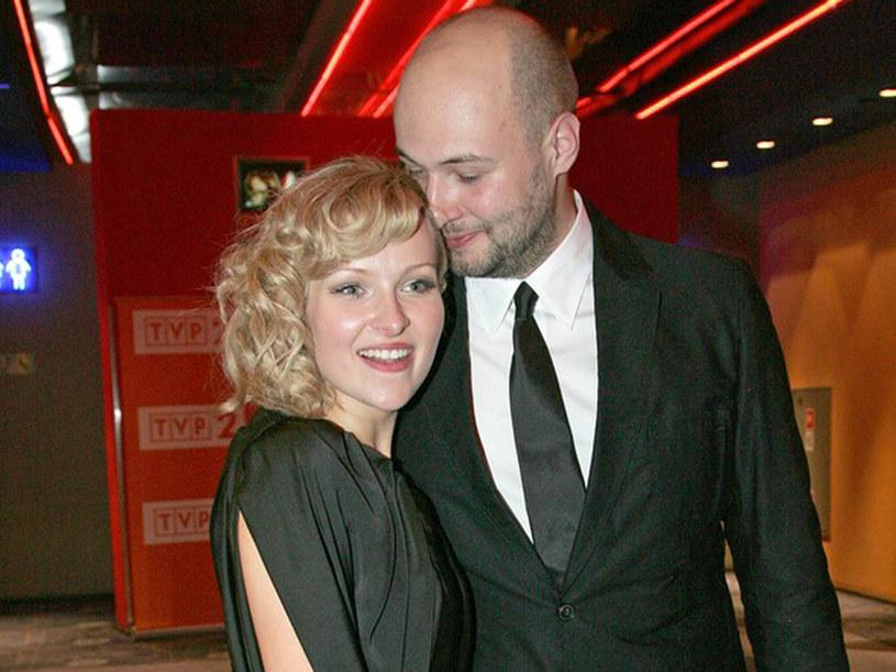 Prywatnie Aktorka jest czułą żoną reżysera Wojciecha Kasperskiego. /Engelbrecht /AKPA