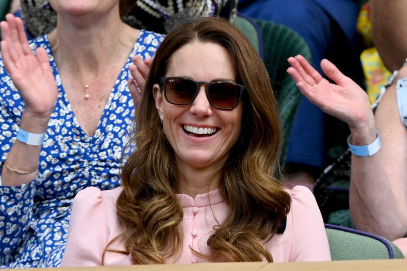 Prywatnie księżna Kate jest fanką tenisa /Karwai Tang/WireImage /Getty Images
