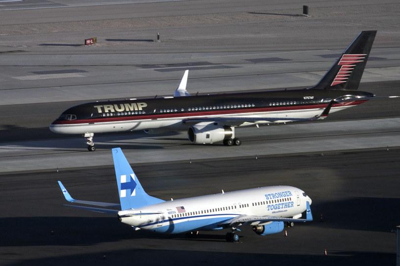 Prywatny 757 Trumpa /AFP