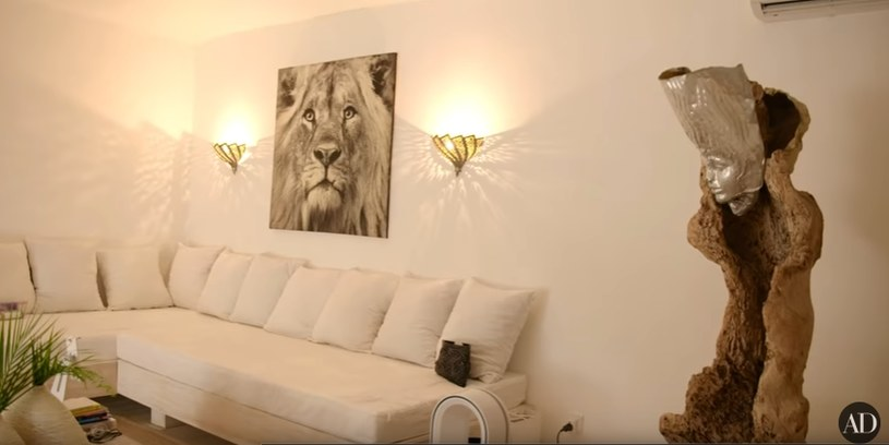 Prywatny pokój Naomi Campbell /YouTube