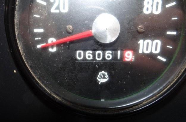 Przebieg to zaledwie 6061 km /
