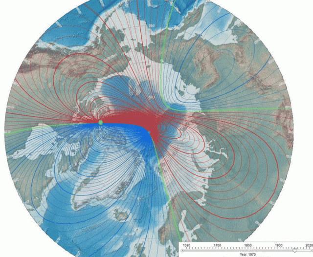 Przebiegunowanie Ziemi może prowadzić do problemów z energią elektryczną oraz do wielu wielu katastrof naturalnych /Zmianynaziemi.pl
