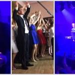 Przebojowe Wesele w RMF FM: Dla nowożeńców zagrał zespół Blue Cafe