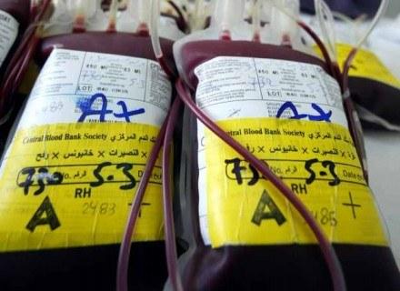 Przechowywanie krwi /Getty Images/Flash Press Media
