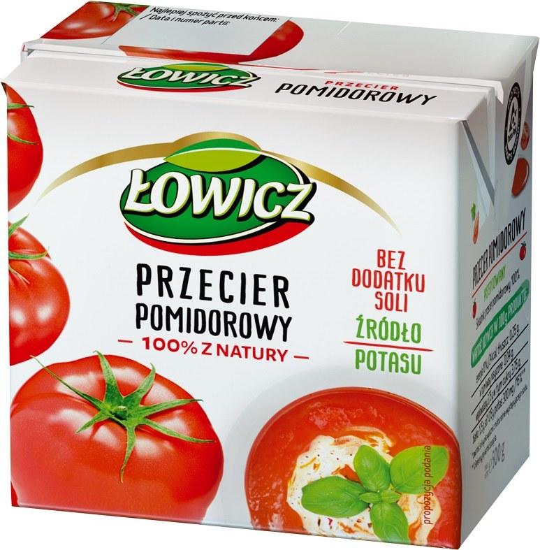 Przecier pomidorowy Łowicz /Styl.pl/materiały prasowe