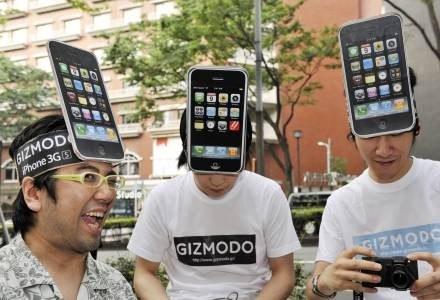 Przeciętny użytkownik zauważa niewiele więcej niż jeden procent wszystkich aplikacji dla iPhone'a /AFP