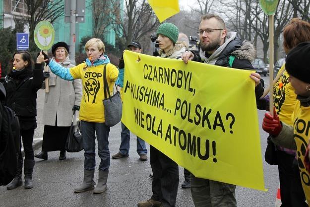 Przeciwnicy atomówki także mają swoje argumenty... Fot. Robert Wojciechowski /Reporter