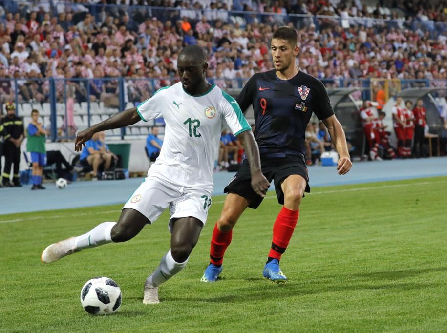 Przed meczem z Koreą Senegalczycy mierzyli się z Chorwatami /PAP/EPA/ANTONIO BAT    /PAP/EPA