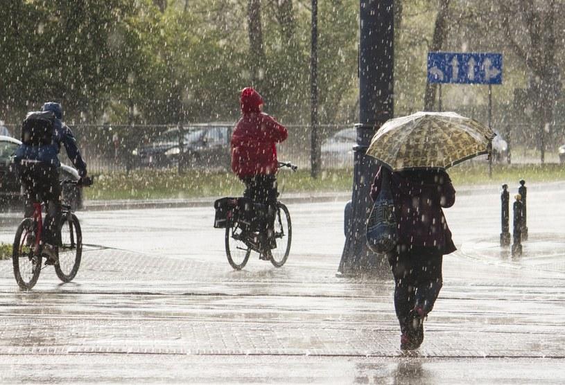 Przed nami bardzo deszczowy tydzień /Krystian Dobuszyński /Reporter