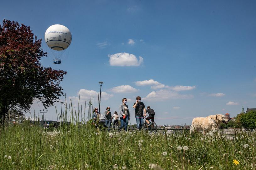 Przed nami, jak wynika z najnowszych prognoz, dni bez opadów /ANNA KACZMARZ / DZIENNIK POLSKI / POLSKA PRESS/Polska Press/ /East News