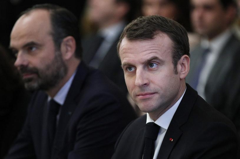 Przed prezydentem Emmanuelem Macronem trudny czas /YOAN VALAT / POOL /AFP