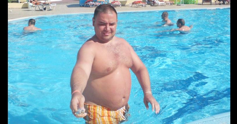 Przed rozpoczęciem diety, Witek ważył 128 kg / fot. archiwum Witolda Kurdziela /materiały prasowe