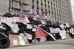 Przed wyborami na Ukrainie: Separatyści blokują komisje wyborcze w Doniecku