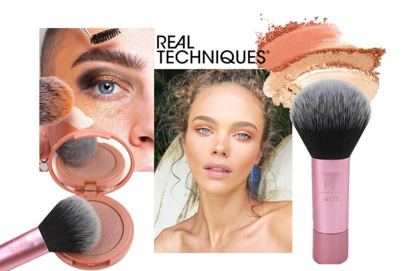 Przedłuż swój wakacyjny look z wielozadaniowym pędzlem od Real Techniques! /INTERIA.PL/materiały prasowe