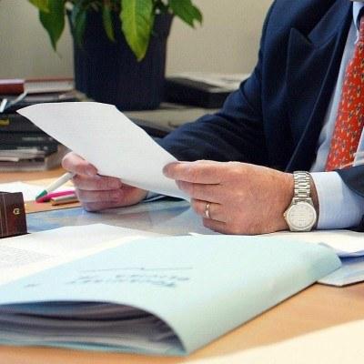 Przedsiębiorca może się sprzeciwić kontroli przeprowadzanej w jego firmie /AFP