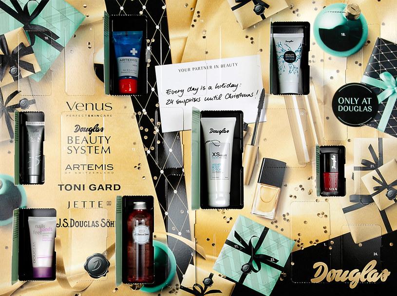 Przedstawiamy kosmetyczny kalendarz adwentowy marki Douglas /materiały prasowe
