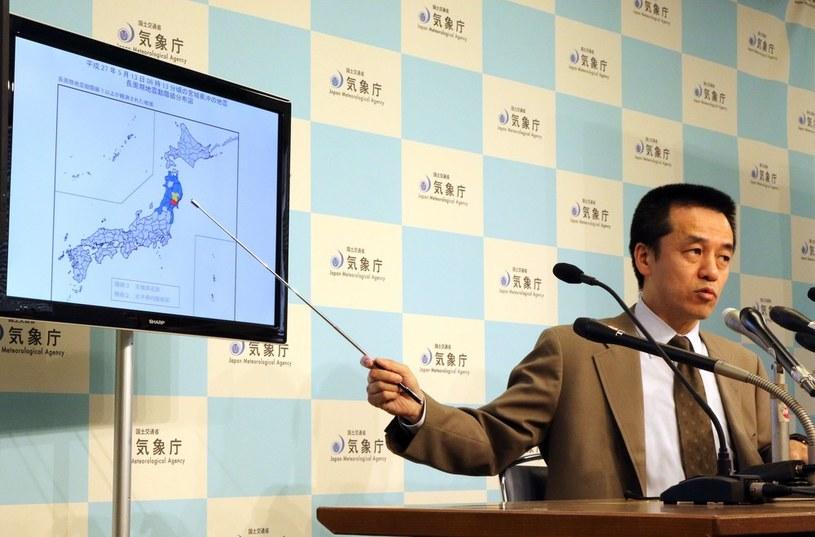 Przedstawiciel agencji meteorologicznej opisuje skalę zniszczeń /East News /AFP