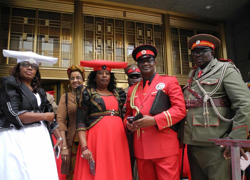 Przedstawiciele grupy etnicznej Herero i Nama. /East News