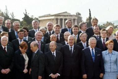 Przedstawiciele państw na szczycie w Atenach /arch. AFP