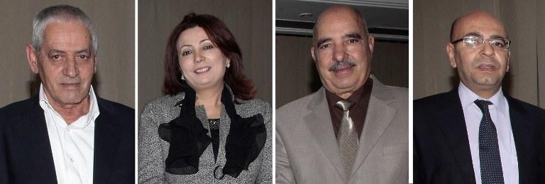 Przedstawiciele Tunezyjskiego Kwartetu /AFP