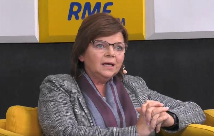 Przedstawicielka Koalicji Obywatelskiej Izabela Leszczyna /RMF