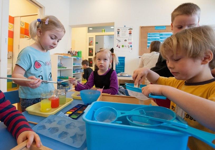 Przedszkolaków jest coraz mniej /ANDRZEJ ZBRANIECKI /East News
