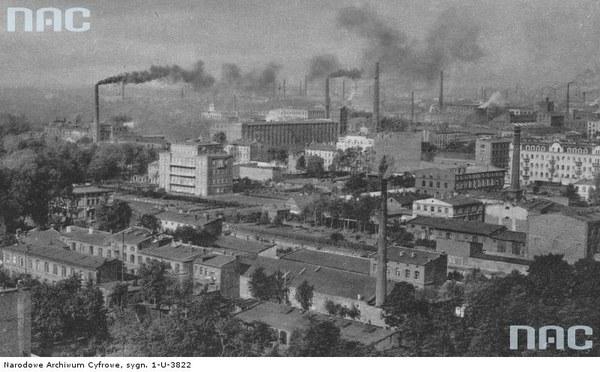 Panorama Łodzi - widok ogólny