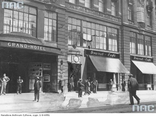 Grand Hotel w Łodzi, 1932