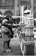 Przedwojenna sprzedaż choinek w Krakowie