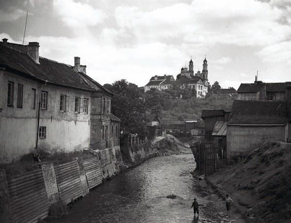 Wilejka. Fotografia z lat trzydziestych XX w.