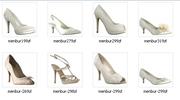Przegląd ślubnych butów oraz torebek
