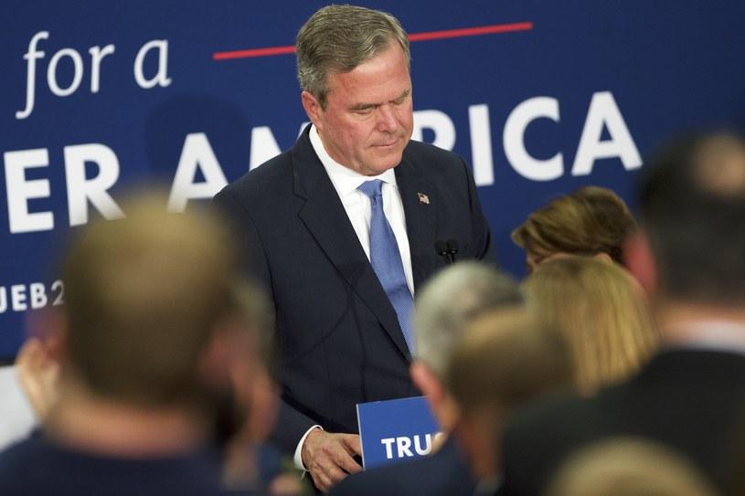 Przegrany Jeb Bush /AFP