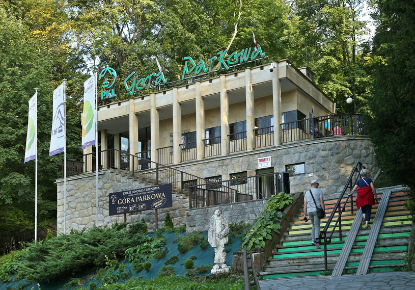 Przejażdżka na Górę Parkową w Krynicy-Zdroju to atrakcja dla dużych i małych kuracjuszy /MONKPRESS/East News /East News