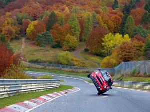 Przejechał Nurburgring na dwóch kołach!