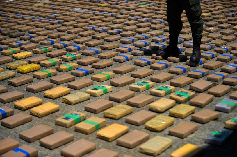 Przejęto rekordową w historii Kolumbii ilość kokainy /Raul Arboleda /AFP