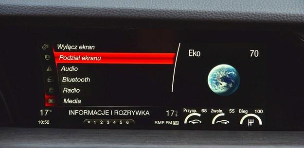 Przejrzyste, intuicyjne w obsłudze multimedia korzystają z wzorców Audi i BMW. /Motor