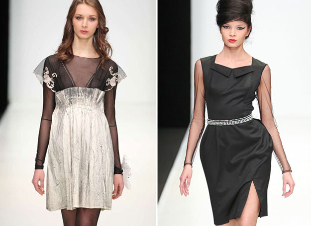 Przejrzyste tkaniny możesz wykorzystać w eleganckich stylizacjach /East News/ Zeppelin