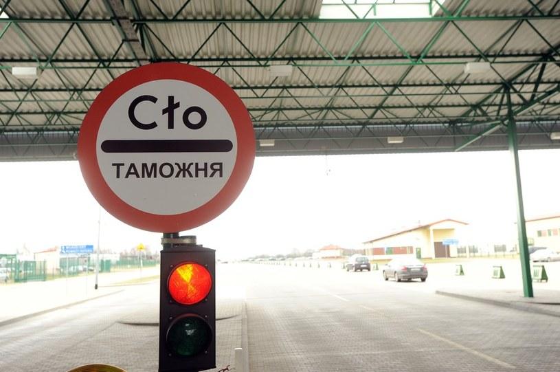 Przejście graniczne Grzechotki–Mamonowo II /Wojciech Stróżyk /Reporter