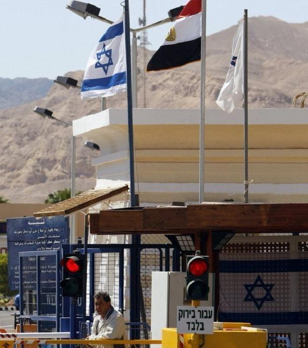 Przejście graniczne między Izraelem a Egiptem w Tabie /AFP
