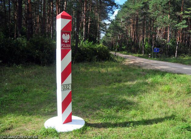 Przejście graniczne miedzy Polską i Litwą /LECH GAWUC/REPORTER /East News