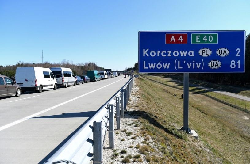 Przejście graniczne w Korczowej /Darek Delmanowicz /PAP