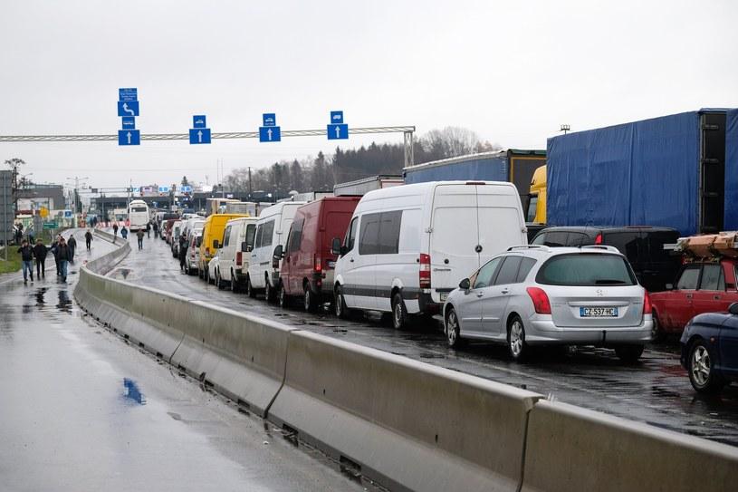 Przejście graniczne w Medyce /Łukasz Solski /East News