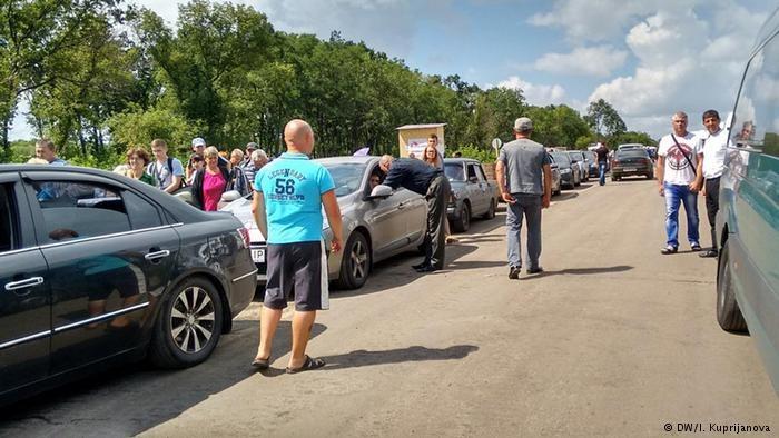 """""""Przejście graniczne"""" w Zajcewie /Deutsche Welle"""