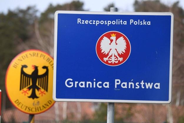 Przejście polsko-niemieckie Świnoujście - Ahlbeck na zdjęciu ilustracyjnym /Stefan Sauer    /PAP/EPA